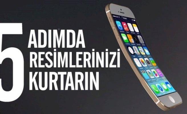 iPhone, iPad veya iPod 'dan Silinen Verileri Fotoğrafları Kurtarma
