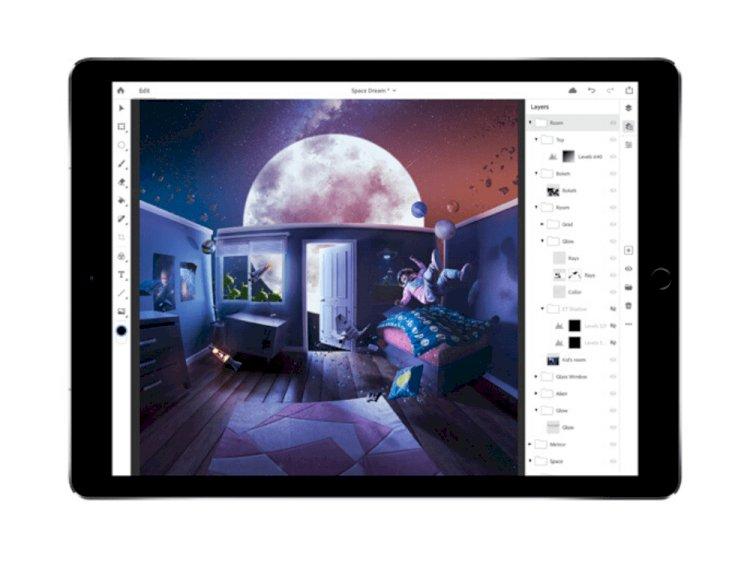 Photoshop'un tam sürümü iPad için kullanıma sunuldu
