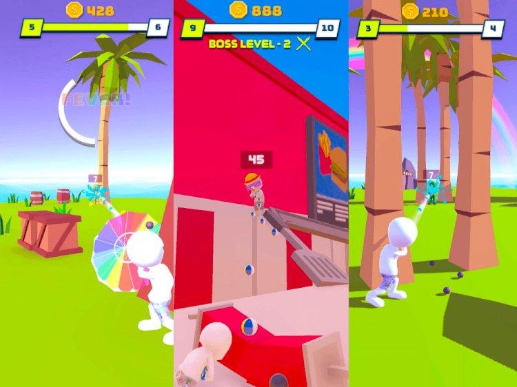 Yerli mobil oyun Water Shooty, 4 milyon indirilmeyi geçti