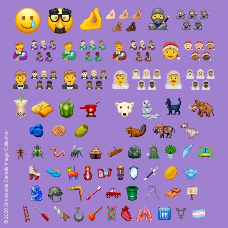iPhone'a Gelecek Olan 117 Yeni Emoji