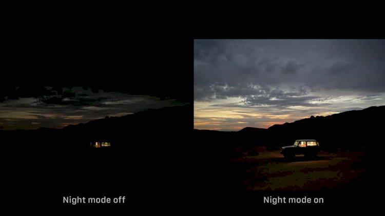 Yeni iPhone 11 reklamı, Gece moduyla düşük ışıkta kamera performansı