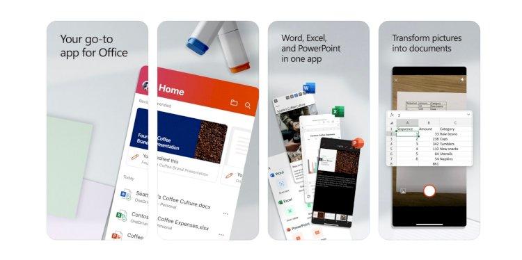 iOS için birleştirilmiş Microsoft Office uygulaması Word, Excel, PowerPoint ile beta sürümü çıktı