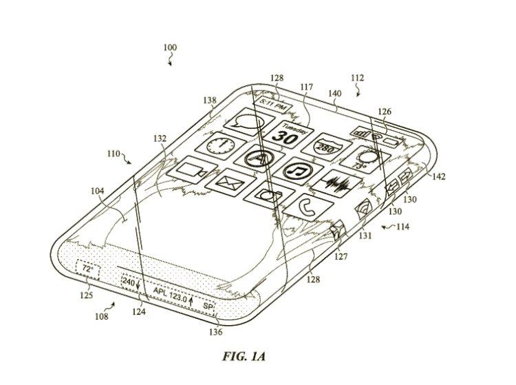 Apple'dan Tamamen Cam Ekranlı iPhone