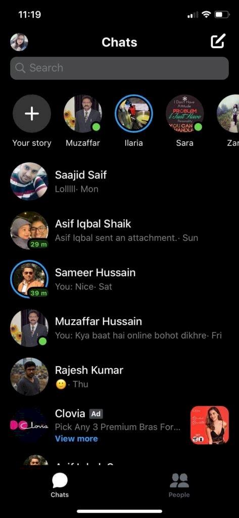 iPhone için yeni Facebook uygulaması