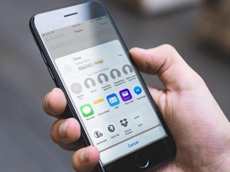 iOS 13.4'te iPhone ve iPad'den iCloud Klasörleri Nasıl Paylaşılır ?