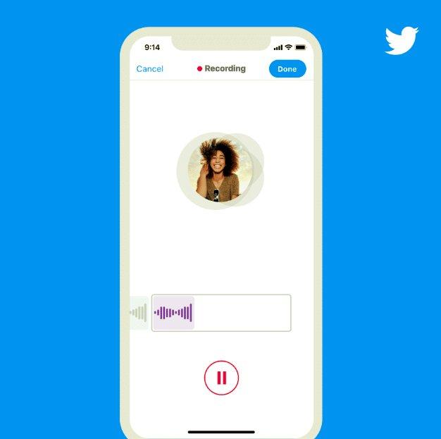 Twitter, iOS'ta Yeni Sesli Tweetleme Özelliğini Test Ediyor