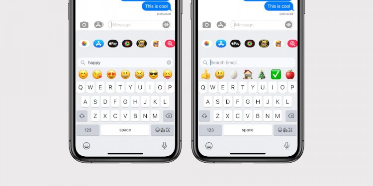 iOS 14: Apple klavyeye sonunda emoji araması ekliyor