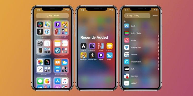 iOS 14'teki yeni iPhone Uygulama Kitaplığı Nasıl Kullanılır?
