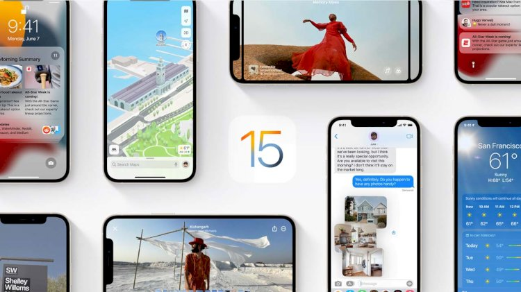 iOS 15 Yayınlandı: iOS 15 Güncellemesi Alan Modeller